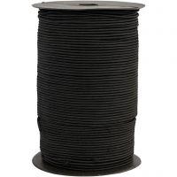 Corda elastica, spess. 2 mm, nero, 250 m/ 1 rot.