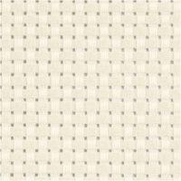 Tela Aida, misura 50x50 cm, 35 quadrati per 10 cm , avorio, 1 pz
