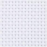 Stoffa Aida, L: 150 cm, 35 quadrati per 10 cm , bianco, 3 m/ 1 pz