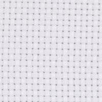 Tela Aida, misura 50x50 cm, 43 quadrati per 10 cm , bianco, 1 pz