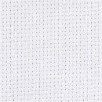 Stoffa Aida, L: 150 cm, 70 quadrati per 10 cm , bianco, 3 m/ 1 pz