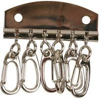 Piatto per chiave in metallo, L: 4,5 cm, 1 pz