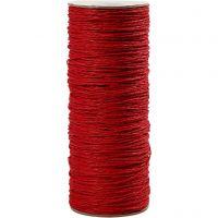 Filo di carta, spess. 1,8 mm, rosso, 470 m/ 1 rot., 250 g