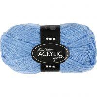 Filo acrilico Fantasia, L: 80 m, blu, 50 g/ 1 gom.