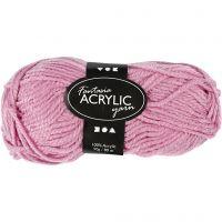 Filo acrilico Fantasia, L: 80 m, rosato, 50 g/ 1 gom.