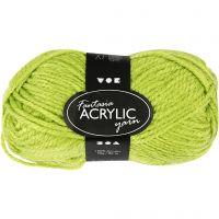 Filo acrilico Fantasia, L: 80 m, verde chiaro, 50 g/ 1 gom.