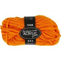 Filo acrilico Fantasia, L: 35 m, misura maxi , neon orange, 50 g/ 1 gom.