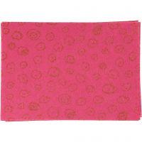 Feltro, A4, 210x297 mm, spess. 1 mm, rosa, 10 fgl./ 1 conf.