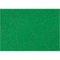 Feltro, A4, 210x297 mm, spess. 1 mm, verde, 10 fgl./ 1 conf.
