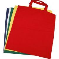 Shopping Bag, misura 38x42 cm, 135 g, colori asst., 5 pz/ 1 conf.