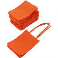 Shopping Bag, misura 20x15x7 cm, arancio, 20 pz/ 1 conf.