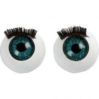 Occhi grandi, misura 12 mm, 6 pz/ 1 conf.