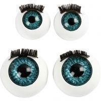 Occhi grandi, diam: 12+17 mm, 2x50 pz/ 1 conf.