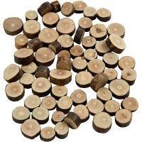 Misto legno, diam: 10-15 mm, spess. 5 mm, 230 g/ 1 conf.