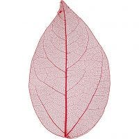 Foglie, L: 6-8 cm, rosso, 20 pz/ 1 conf.