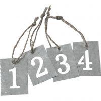 Numeri Avvento, 4 pz/ 1 set