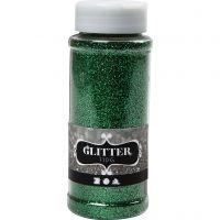 Glitter, verde, 110 g/ 1 vasch.