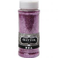 Glitter, rosa, 110 g/ 1 vasch.