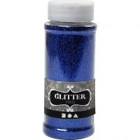 Glitter, blu, 110 g/ 1 vasch.