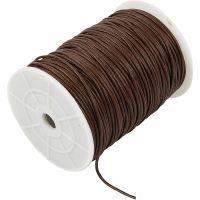 Corda di cotone, spess. 2 mm, marrone, 100 m/ 1 conf.