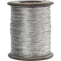 Filo, spess. 0,5 mm, argento, 100 m/ 1 rot.