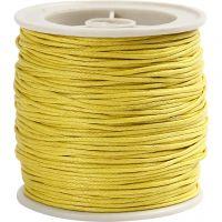 Laccio di cotone, spess. 1 mm, giallo, 40 m/ 1 rot.