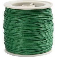 Laccio di cotone, spess. 1 mm, verde, 40 m/ 1 rot.