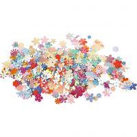 Lustrini , diam: 5-20 mm, colori pastello, 10 g/ 1 conf.