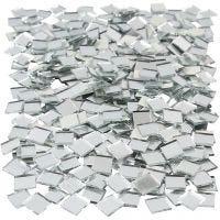 Tessere a specchio per mosaico, misura 10x10 mm, 500 pz/ 1 conf.