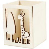 Portamatite, giraffa, H: 10 cm, L: 8 cm, 1 pz