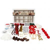 Scatola creativa, Natale tradizionale, 1 set
