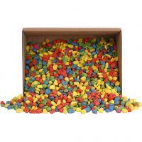 Pietre per mosaico, misura 8-10 mm, colori forti, 2 kg/ 1 conf.