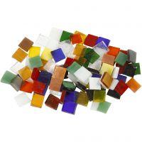 Tessere in vetro per mosaico, misura 10x10 mm, 454 g/ 1 conf.