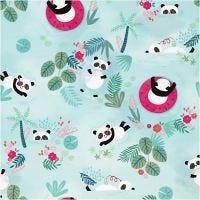 Confezione regalo, Panda, L: 35 cm, 100 m/ 1 rot.