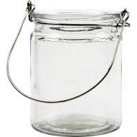 Lanterna, H: 10 cm, diam: 7,6 cm, 12 pz/ 1 scat.