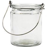 Lanterna, H: 10 cm, diam: 7,6 cm, 2 pz/ 1 conf.