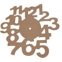 Quadrante, diam: 30 cm, spess. 3 mm, 1 pz