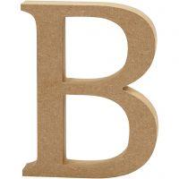 Lettera, B, H: 13 cm, spess. 2 cm, 1 pz