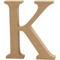 Lettera, K, H: 13 cm, spess. 2 cm, 1 pz