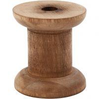 Rocchetto, H: 50 mm, diam: 30+48 mm, misura buco 10 mm, 10 pz/ 1 conf.