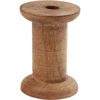 Rocchetto, H: 70 mm, diam: 30+48 mm, misura buco 10 mm, 10 pz/ 1 conf.