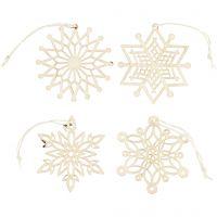 Ornamenti, diam: 7 cm, spess. 0,3 mm, 8 pz/ 1 conf.