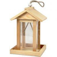 Mangiatoia per uccelli, H: 21.5 cm, L: 14.5 cm, L: 14,5 cm, 1 pz