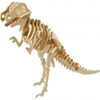 Costruzioni 3D, dinosauro, misura 33x8x23 cm, 1 pz