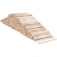 Bastoncini con buchi, L: 11,4 cm, L: 10 mm, 1000 pz/ 1 conf.