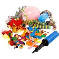 Kit materiale di Carnevale, 1 set