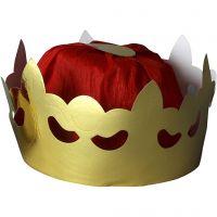 Corona da re, H: 11 cm, diam: 19 cm, 1 pz