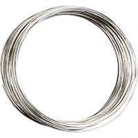 Filo armonico, diam: 5 cm, spess. 0,7 mm, placcato argento, 1 pz