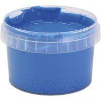 Pittura a dita PRIMO, blu, 250 ml/ 1 bott.