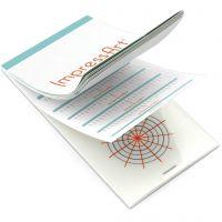 Guide per timbri, misura 6,5x13 cm, 1 pz